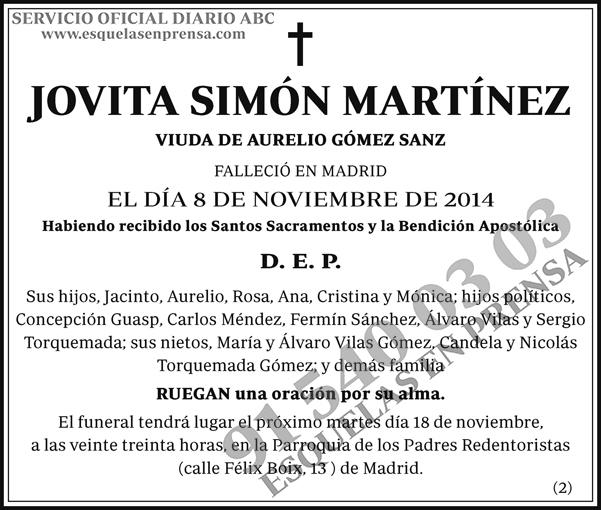 Jovita Simón Martínez